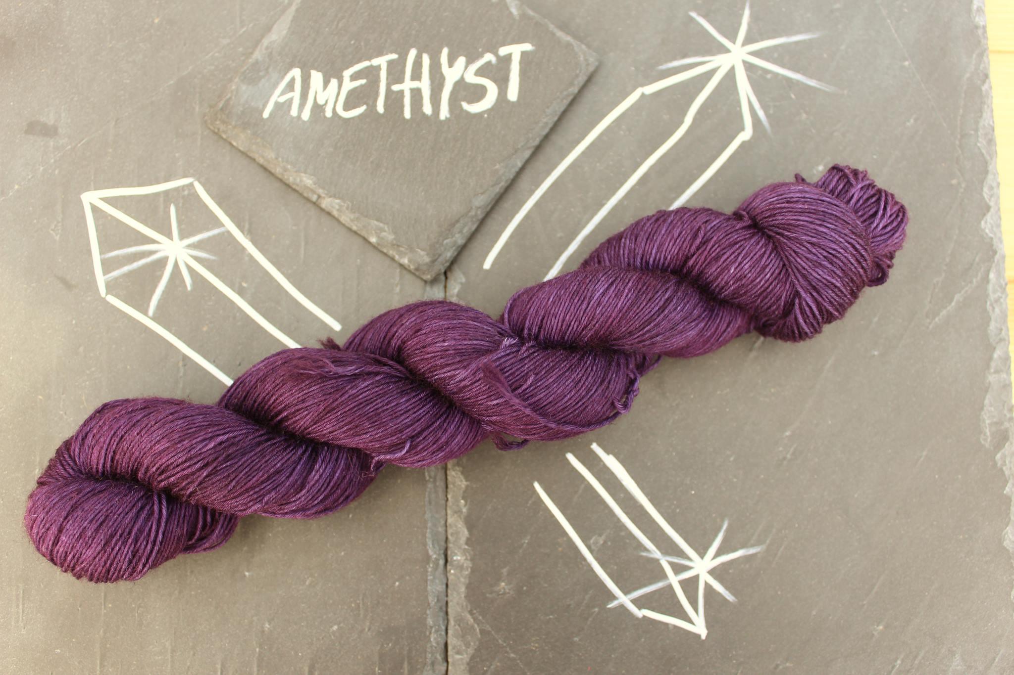 Amethyst Sockenwolle