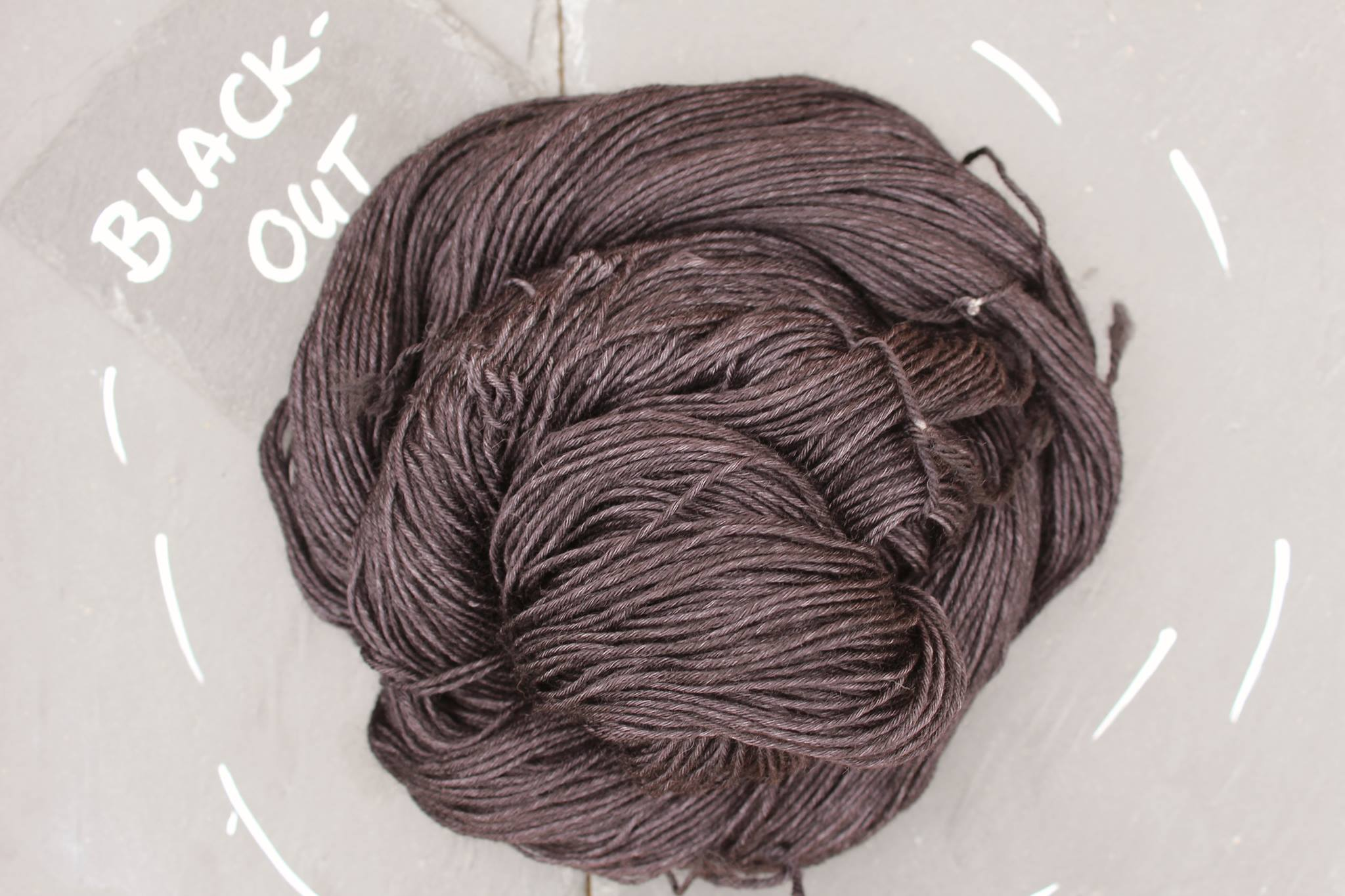 Black Out Seide Merino
