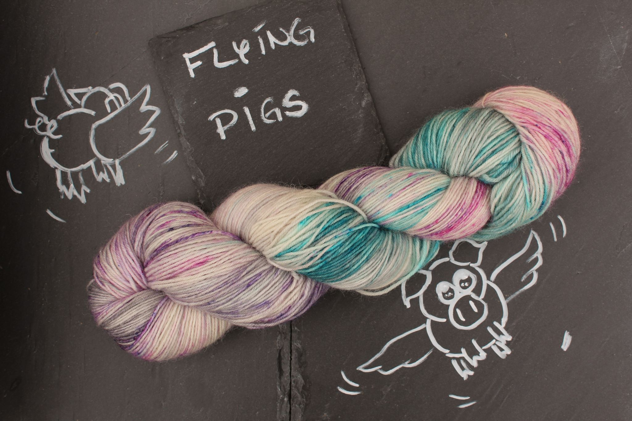 Flying Pig Sockenwolle