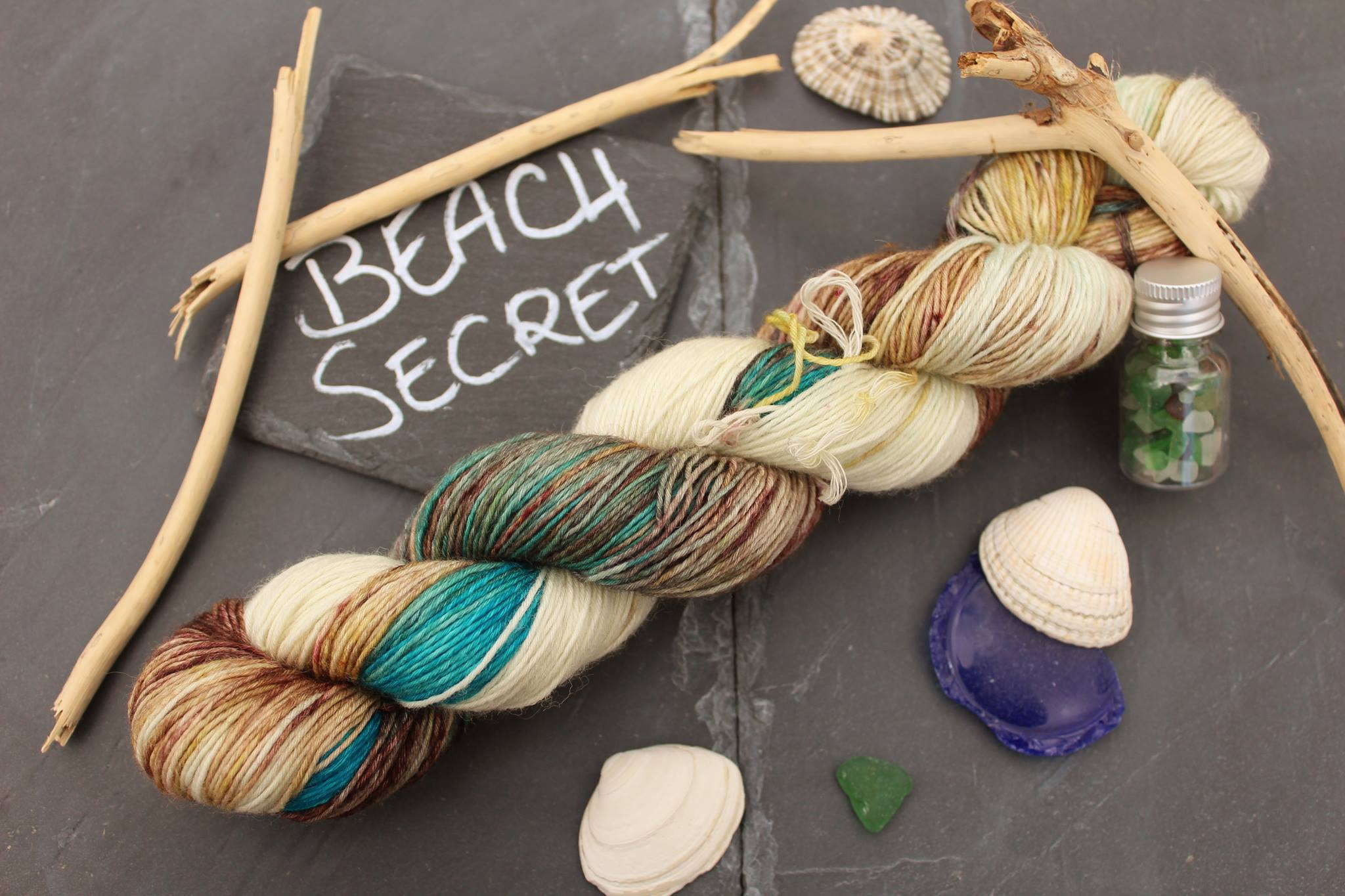 Beach Secret Seide Merino