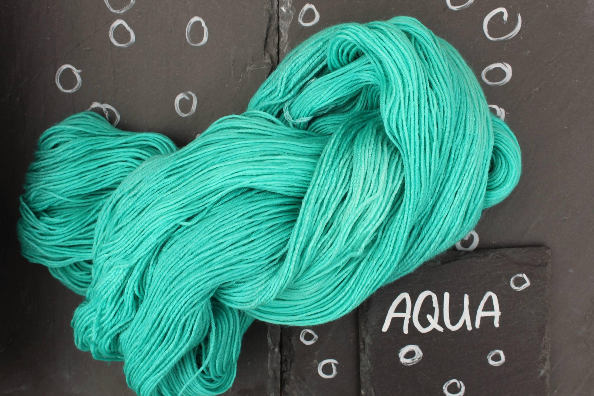 Aqua Seide Merino