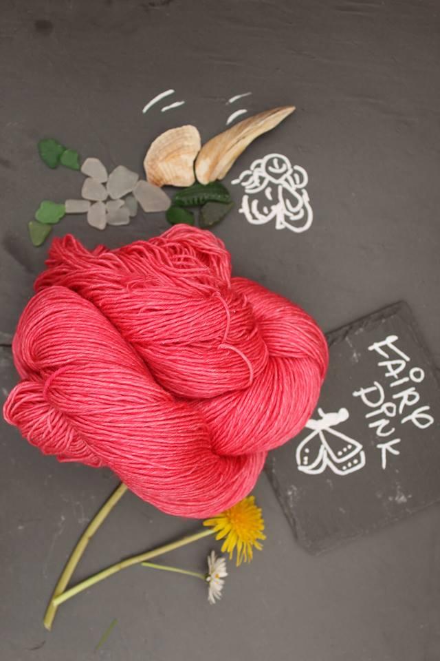 Fairy Pink Sockenwolle