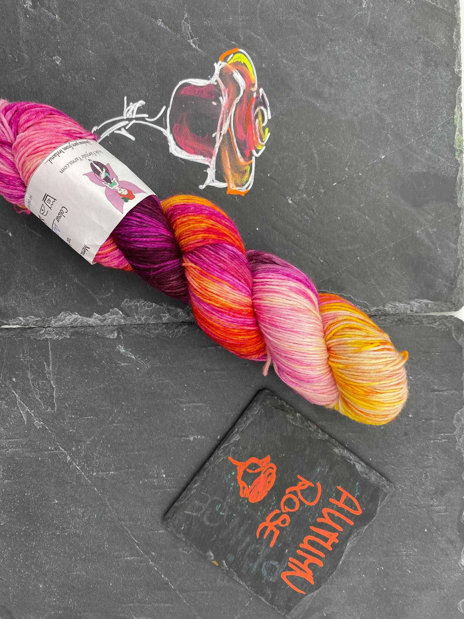 Autumn Rose  Seide Merino