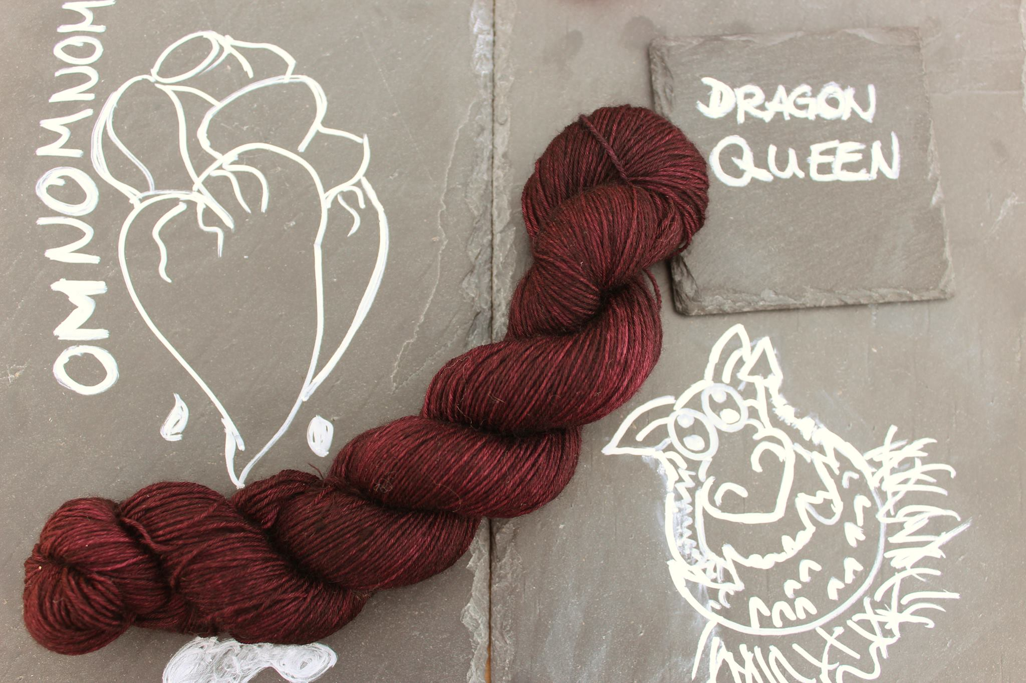 Dragon Queen Seide Merino